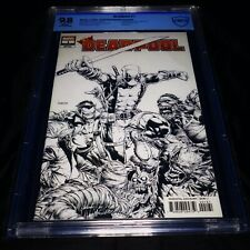 DEADPOOL #1 2019 1:100 DAVID FINCH SKETCH INCENTIVE VARIANT CBCS 9.8!! Not CGC