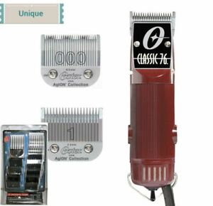 REFURBISHED Oster Classic 76 Free Universal 10-PC Combs Set & BONUS Size 1 Blade