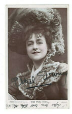 Ethel Irving Signed Postcard Photo Early 1900s / Actor Autographed