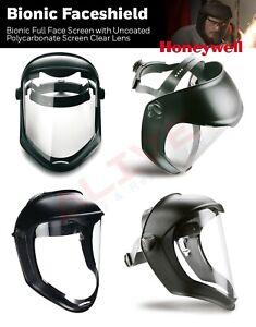 1011623 Honeywell Bionic Face Shield Face Visor Full Eye & Face Cover Protection