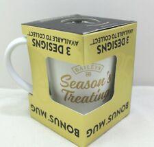 "Baileys Collector Mug ""Season's Treating"" New in The Box"