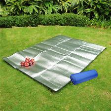 2×2m Family Outdoor Picnic Waterproof Mat Beach Blanket Sleep Play Pad Grey