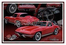 1965 Corvette Poster Print