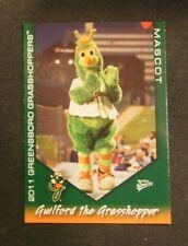 2011 Multi-Ad Sports, Greensboro Grasshoppers, Mascot - GULIFORD THE GRASSHOPPER