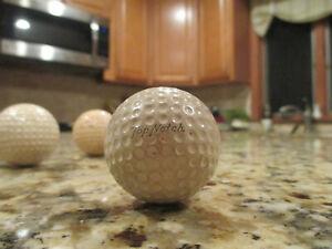 "Antique Golf Ball Wilson  ""TOP NOTCH"" Early 1900s"