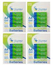 16 x starmo AA MN1500 1200mAh HR6/1.2V batterie ricaricabili NiMH pronto all'uso