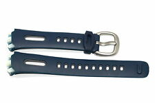 NIKE TRIAX SPEED 50 SUPER BLUE GRAY REPLACEMENT RUBBER WATCH BAND WR0129
