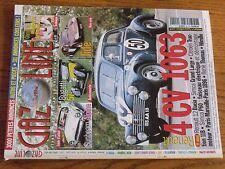 $$$ Revue Gazoline N°92 4 CV 1063Sunbeam AlpineBugatti 57Machoires freins