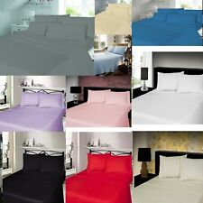 100% Brushed Cotton Thermal Flannelette Fitted Or Sheet Set Or Flat Bed Sheets