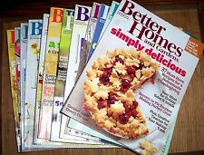 11 Issues Better Homes and Gardens Magazine 1 year 2012