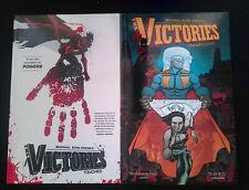 The Victories Vol.1 & Vol.2 Dark Horse Graphic Novel Lot NM-