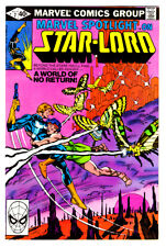 MARVEL SPOTLIGHT on STAR-LORD #7 in VF condition a 1980 Marvel comic