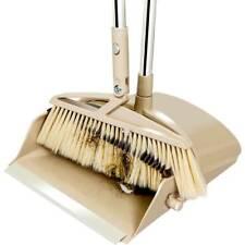 Detachable Handle Dustpan with Brush Set Broom Sweep Clean Handle Disposal Tools