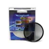 49mm CPL Circular Polarizer Lens Filter & Protector Cover for Canon Nikon Sony