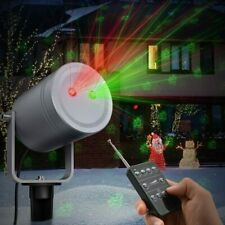 Christmas Holiday Decor Laser Light Projector Outdoor Waterproof Remote Control