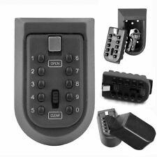 Outdoor Wall Mounted Key Safe Combination Lock Box - Grey