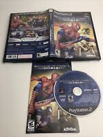 Spider-Man Friend Or Foe (Sony PlayStation 2) PS2 Complete W/ Manual - Tested