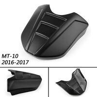 1pc ABS Kunststoff Soziusabdeckung Sitzbezug Für Yamaha 2016-17 MT-10 Black F1