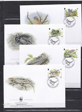 Jersey 2004 - FDC - Dieren/Animals/Tiere (Reptiles/Birds/Insects) - WWF/WNF