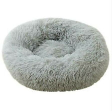 Pet Bed Dog large Luxury Shag Warm Fluffy Puppy Kitten Fur Donut Cushion Mat new