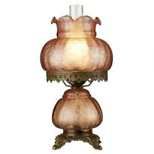 Rose Court Victorian-Style Design Toscano Hurricane Table Lamp