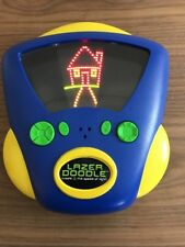 Lazer Doodle Pixel Light Drawing Electronic Toy 2002 LED Light ETCHASKETCH