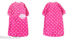 Brand New Microfleece Sleeping Bag (0-9M) - Hot Pink Dotty Cute Cupcake