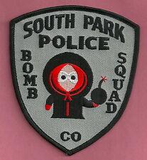 SOUTH PARK COLORADO BOMB SQUAD POLICE PATCH KENNY BLACK STYLE