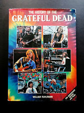 Grateful Dead Book The History Of The Grateful Dead 1990 Ruhlmann Jerry Garcia