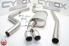 BMW 320D 318D 2.0 E90 SALOON CYBOX STAINLESS STEEL EXHAUST SYSTEM