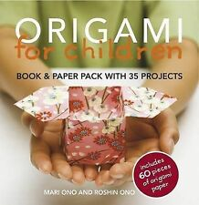 Origami for Children: 35 step-by-step projects w, Mari Ono, Very Good