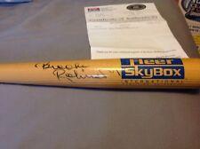 Brooks Robinson Autographed Auto HOF Bat Fleer Skybox LOA