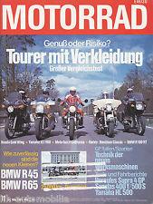 Motorrad 11 79 BMW R 45 65 Udo Lindenberg The Who Bob Dylan Steppenwolf 1979