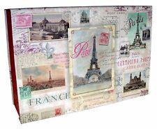 Pooch & Sweetheart Flip Top Nesting Box Paris Carte Postal 84872 Md Punch Studio