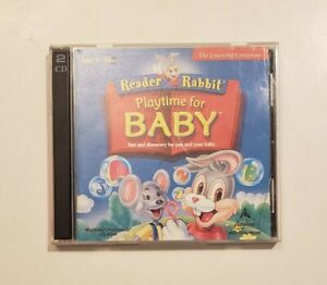 Reader Rabbit: Playtime for Baby (Vintage PC CD-ROM, 1999)
