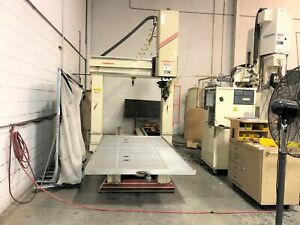 Thermwood Model C 67 5' x 10' Table 5 Axis CNC Router