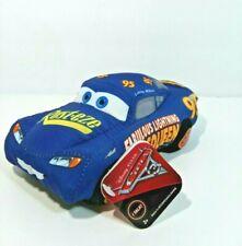 Disney Pixar Cars 3 Talking Fabulous Lightning McQueen Crash Me Plush Toy NWT
