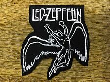 LED ZEPPELIN Sew Iron On Patch Embroidered Rock Band Heavy Metal Logo Music DIY