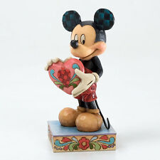 Enesco estatua Disney MICKEY MOUSE estatuilla jim shore figura RESINA figurita