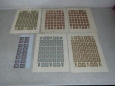 Nystamps Russia mint stamp sheet collection Rare