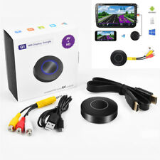 Car Stereo WIFI Display Dongle Miracast Airplay Screen Mirroring HDMI+AV Output