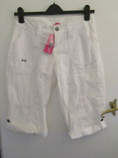 Pineapple White Cotton Shorts in Size 10 - NWT