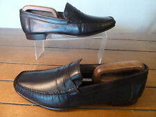mens SHIPTON & HENEAGE all leather loafers - size 44 BNWOB