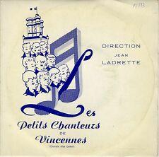 EP 45 tours Les Petits Chanteurs de Vincennes boys choir EXC+