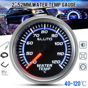 "2"" 52mm Universal Car Truck Auto Water Temp Temperature Gauge Meter LED Display"