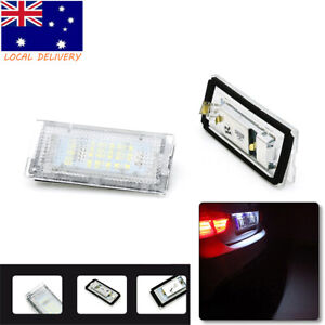 2x For BMW 3 Series E46 Number License Plate Lamp SMD LED Tail Lights Assembly