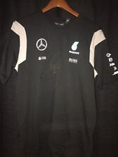 Lewis Hamilton autograph shirt