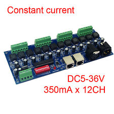 Constant Current 12CH 350MA 12 Channel DMX512 Decoder Controller DMX Convertor