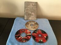 VINTAGE PC CD-ROM STRATEGY AND SIMS GAMES.  LOT OF 3 GAMES