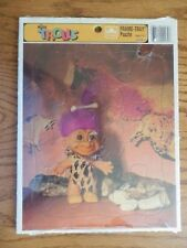 Russ TROLLS Frame Tray Puzzle Sealed c1992 12 Pieces Purple Hair Golden NEW